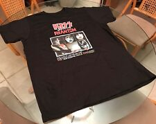 1978 Kiss TV Movie Kiss Meets The Phantom 2XL T Shirt! (See) Black Sabbath