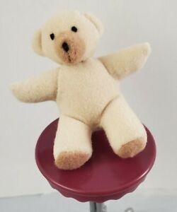 New Barbie Doll Stuffed Plush Teddy Bear Miniature Toy Accessory