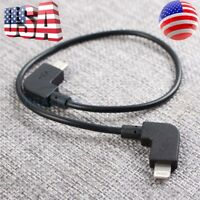 OTG Micro USB Cable for DJI MAVIC PRO AIR Spark RC to IOS iPhone/iPad Lightning