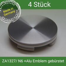 ZA 1327 / N06 + Alu Emblem gebürstet  Nabenkappen 60 mm AEZ Dezent Enzo Dotz  4