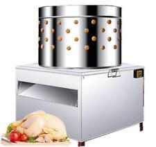 Turkey Chicken Plucker Plucking Machine Poultry De-Feather #50 US