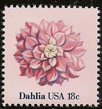 US 1878 Flower Dahlia 18c single MNH 1981