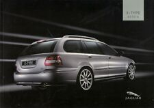Jaguar X-Type Estate 2004-05 UK Market Sales Brochure Classic S SE Sport Premium