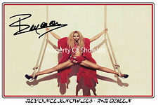 BEYONCE HUGE SIGNED POSTER, GET IT NOW! GREAT GIFT FOR SOMEONE SPECIAL