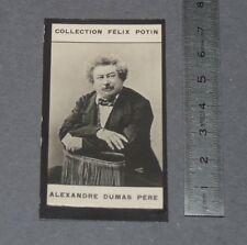 PHOTO IMAGE FELIX POTIN 1er ALBUM 1902 LITTERATURE ALEXANDRE DUMAS PERE