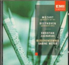 Mozart(CD Album)Piano And Wind Quintets-New
