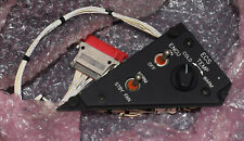 BOEING APACHE AH-64 HELICOPTER ECS SWITCH PANEL 7-311A20012 6110-01-181-4043