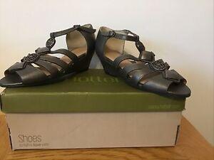 Women's Hotter Low Heel  Sandals Size U.K 3