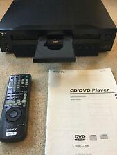 Sony Dvp-S7700 Dvd Player