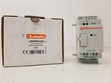 LOVATO LRE08RA024 3rd expansion module 24Vac MICRO PLC 4/4 RELAY