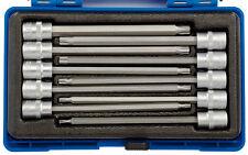 Draper 1cm Cuadrado Dr. 150mm Largo TX Broca Conector ESTRELLA SET (10 piezas)