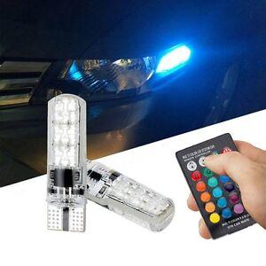 6LED RGB Clearance LED Light Silica Gel Reading Light Bulb Interior Lamps