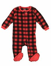 Leveret Baby Polar Bear Fleece Footed Sleeper Pajama (Size 6M-5T)