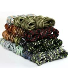 1pair Round Shoelaces Outdoor Hiking Sports Shoe Laces Kids Sneakers Shoelaces