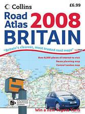 Collins 2008 Road Atlas Britain, , Very Good Book