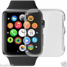 Apple Watch iWatch Premium Full 3D Gel Screen Cover Protector Clear 100% 42mm