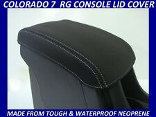 HOLDEN COLORADO 7 RG NEOPRENE  CONSOLE LID COVER (WETSUIT MATERIAL) DEC 2012-NOW