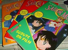 Lot of Naoko Takeuchi's Sailor Moon books 3 4 and 6 Scouts on Film Mars Attacks
