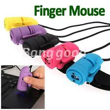 Mini USB 3D Optical Finger Mouse Mice Ring For Laptop PC Computer Handheld