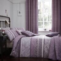 Dreams & Drapes Hanworth Easy Care Duvet/Quilt Cover Bedroom Range Heather