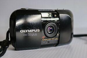 OLYMPUS STYLUS INFINITY 35mm FILM CAMERA 1:3.5 LENS TESTED- WORKS
