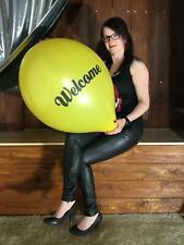 Ballons Hochzeit WEIß 3x große HERZ WEIß Luftballons 45cm 3x große Herz