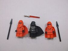LEGO lot of Darth Vadar 2 Royal Imperial Guards Star Wars Minifigure minifig Q90