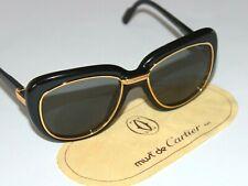 Vintage CARTIER CONQUETE Sonnenbrille - sign. Cartier Gläser verspiegelt