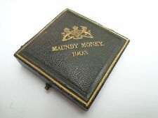 1906 antique maundy money box only no coins