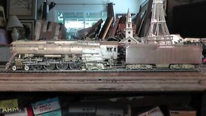 HO Brass Balboa SP 4-8-4 GS-4 Runs Well On Track Katsumi Southern Pacific Japan
