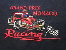 Monaco Grand Prix Embroidered F1 Racing Sport Polo Event Shirt  L