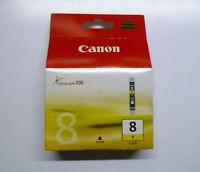 Canon CLI-8Y CLI8Y 8 Y gelb yellow unbenutzt versiegelt neu