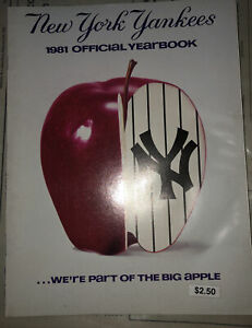 New York Yankees 1981 Official Yearbook