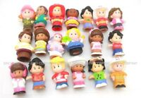 Random Lot 10pcs Fisher Price Little People Family Christmas Figure Kid Toy Gift
