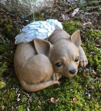 Chihuahua, Memorial Statue, Concrete Dog, Chihuahua Angel, Cement Headstone