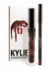 New! Authentic! Kylie Cosmetics True Brown K Lip Kit MATTE Liquid Lipstick Liner