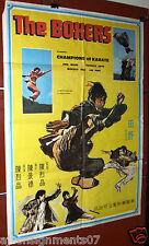 The Boxers Hu pao xiong di {Han Chin} Lebanese Kung Fu Movie Poster 70s
