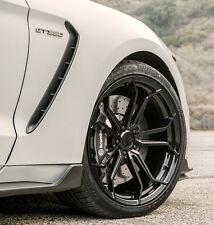 "20"" Avant Garde M632 Gloss Black Wheels Fits Ford Mustang 20x10 / 20x11 5x114.3"