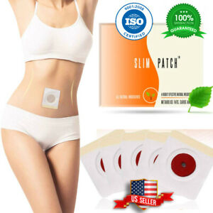 10-100Pcs Slim Patch Weight Loss Slimming Diets Pads Detox Burn Fat Adhesive