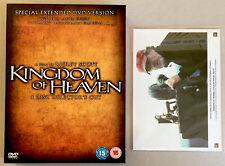 Kingdom Of Heaven DVD 4-Disc Set Director's Cut 4 Photo Stills Ltd Ed #2410 RARE