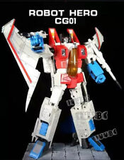 New Arrival! ROBOT HERO Oversized MP06 G1 CG-01 Starscream Figure