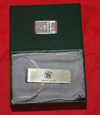 Smith & Wesson Solid Sterling Silver Money Clip
