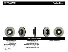 StopTech Front Right Disc Brake Rotor for 2004 - 2010 BMW 525i 530i 525xi 528i