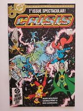 CRISIS ON INFINITE EARTHS #1 (NM-) 1984 FIRST ISSUE! GEORGE PEREZ COVER & ART
