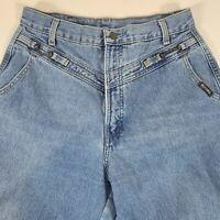 Vintage Rocky Mountain ROCKIES Western High Waist Mom Jeans Womens Sz 13 (28x35)