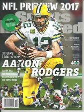 Sports Illustrated September 4 11 2017 Aaron Rodgers Green Bay Packers Newsstand