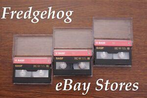 3 x BASF / EMTEC P5-90 HG HIGH GRADE 8mm / Hi8 VIDEO CAMCORDER CASSETTE TAPES