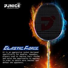 JNICE ELASTIC FORCE Badminton Racket w/ Velvet Package FREE No String Including