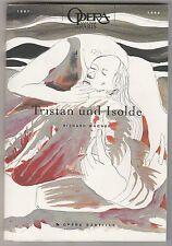 Programme Opéra Bastille Tristan und Isolde Richard Wagner 1998