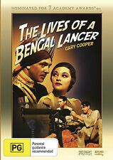 The Lives of a  Bengal Lancer * Gary Cooper * Nominated of Oscar - Best Picture